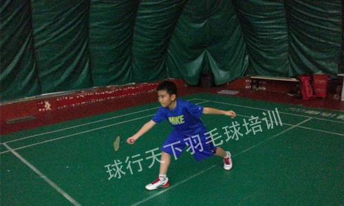 青少年儿童羽毛球培训