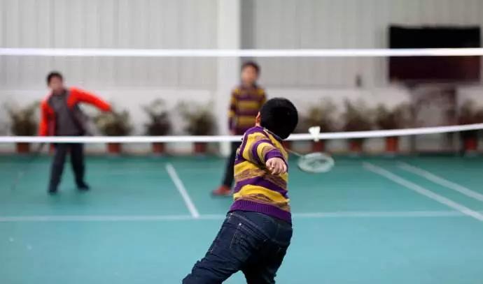 """019北京球行天下寒假青少年儿童羽毛球培训"""""""